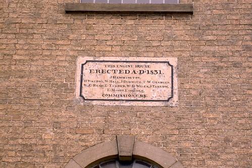 Erected in 1831