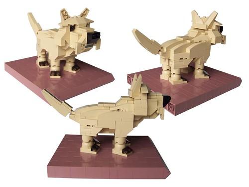 LEGO terrier