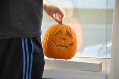Der leuchtende Pumpkin