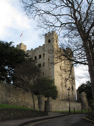 Rochester Castle In November