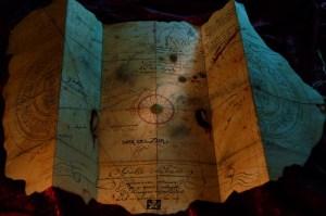 Goonies Treasure Map