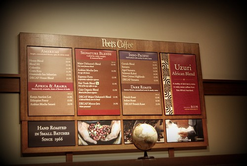 Peets Coffee, Valencia, SCV by you.
