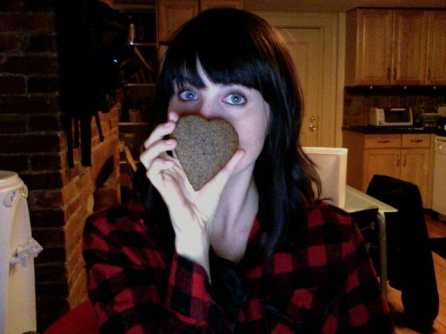 i made vegan gingerbread cookies
