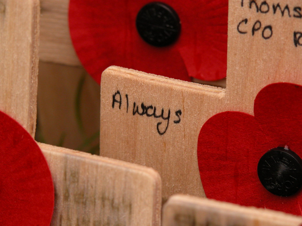 Always, Field of Remembrance, 2009