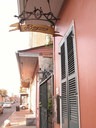Bayona Restaurant, New Orleans LA (2005) by you.