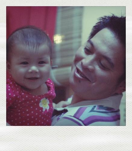 Ninong Ivan with Lia