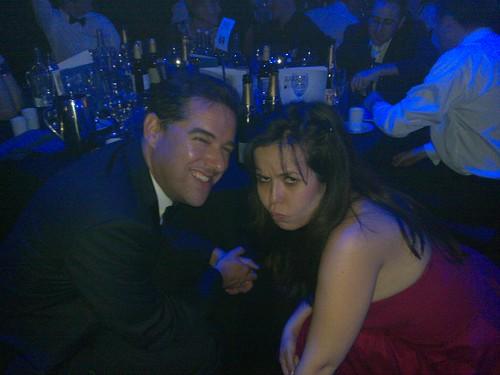 Bryan Glick and Angelica Mari