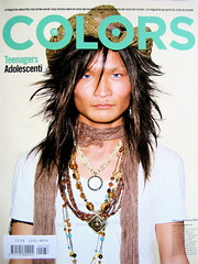 COLORS n. 76, autunno 2009, copertina (part.)