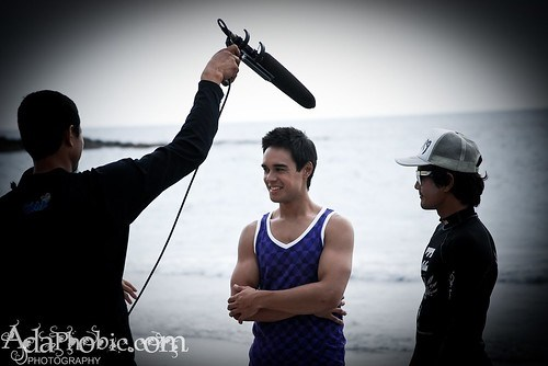 Andrew of Qtube Tries Out Surfing in La Union