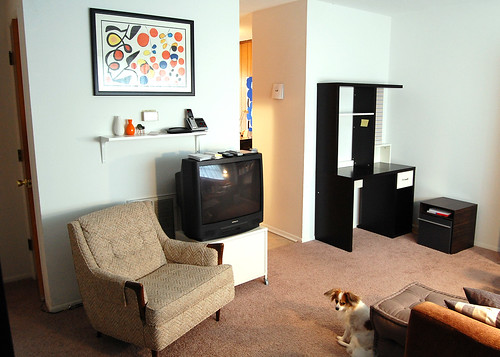 Old apartment arrangement.