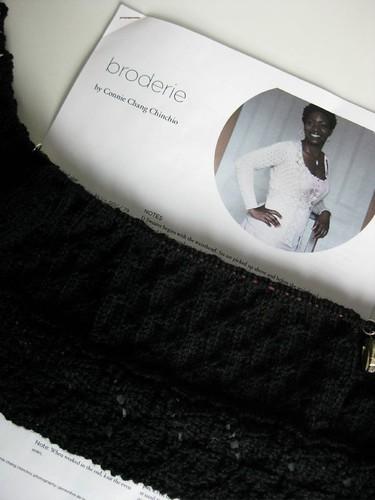 Black Broderie
