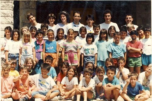 Àlbum Curs 1992-93, colònies a Mas Suro'93 i campaments a Borredà'93