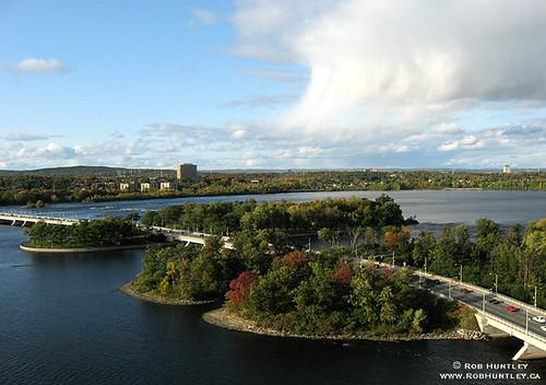 Champlain Bridge - Kite Aerial Photography (KAP)