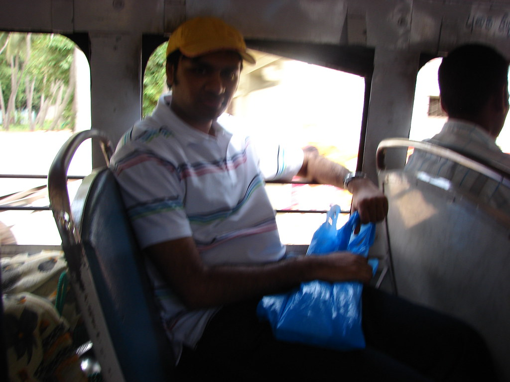 Me, travelling in Pondicherry