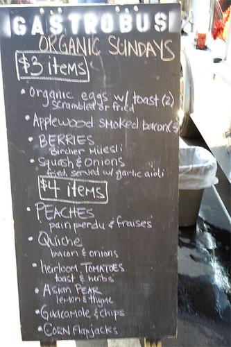 The Gastrobus Farmer's Market Sundays