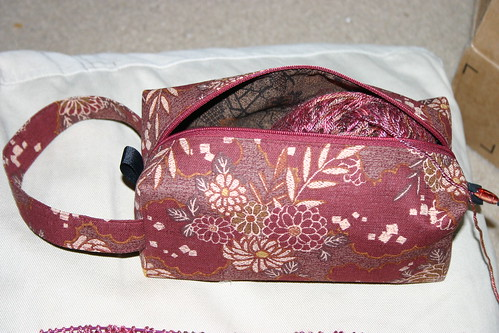 Project bag from ZigZagStitches