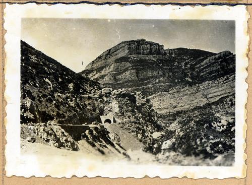 ADACAS - 02-7: Construcción de la carretera de Arguis a Nueno, Huesca. 1921-1924