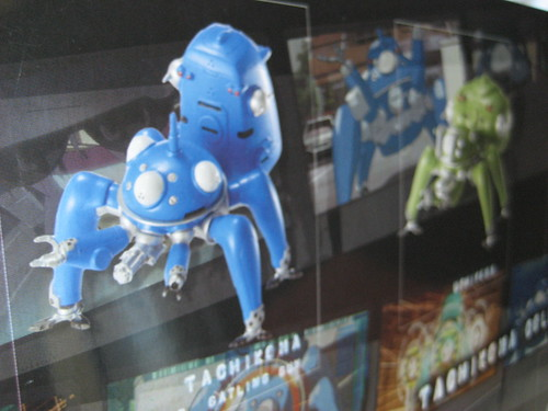 10 pieces of Tachikoma! Theyre all mine. :)