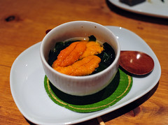Sea Urchin and Seaweed Broth