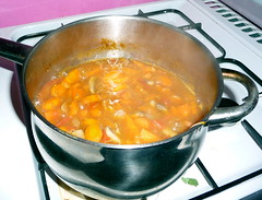 Soup - simmering away nicely