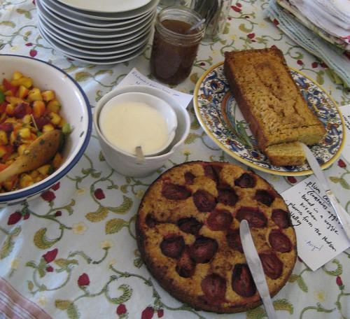 JCarrot dessert spread