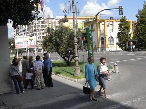 Semaforo Aburrimiento calle Reyes Católicos.