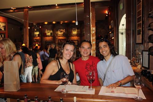 Gundlach Wineries - Sonoma, CA - Léna, Cédric et moi