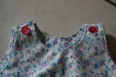 Top de la robe trapèze - 6 mois