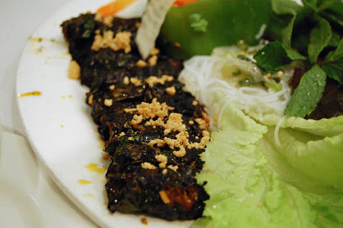 Beef in Betel Leaves