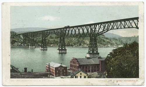 The Bridge, Poughkeepsie, N.Y. by New York Public Library