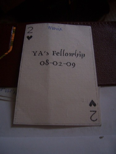 The Card - Front