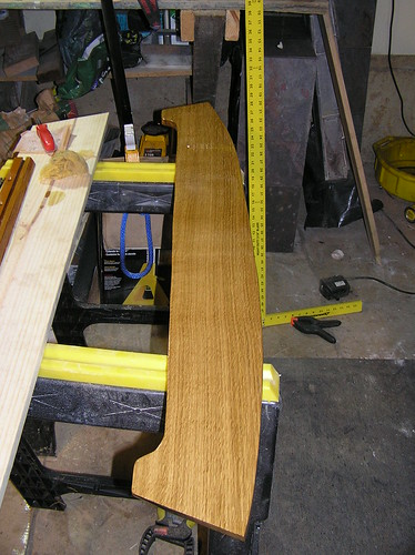 New quarter sawn white oak brace