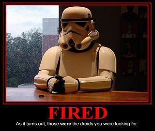 Demotivator : Fired