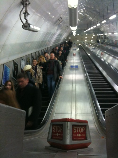 Holborn escalator