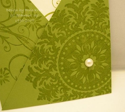 Hochzeitskarte Tasche Medallion