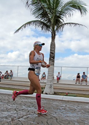 Ironman Cozumel Women's Champion Yvonne van Vlerken