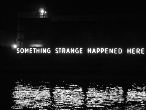 Something strange....