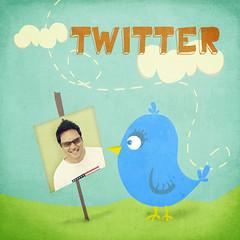 Twitter widget copy
