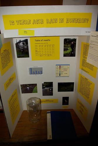 Sustainabilty entry Otago Science Fair