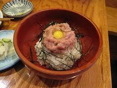 yakitori jinbei - negitoro bowl