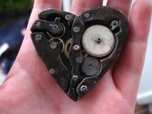 steampunk heart - big