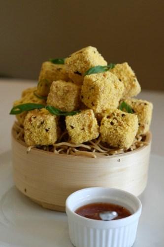 Chili Crusted Tofu at Unit 8 Cafe