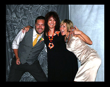 FROM THE PHOTO BOOTH AT BRY AND KATES WEDDING AT THE RECEPTION ..WHAT FUN by you.