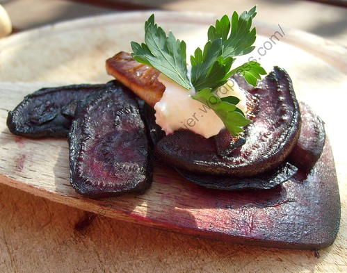 Poêlée de betteraves au raifort / Fried beetroot with horseradish