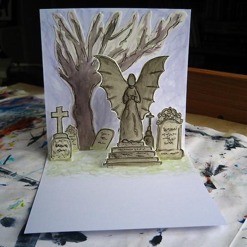 graveyard popup