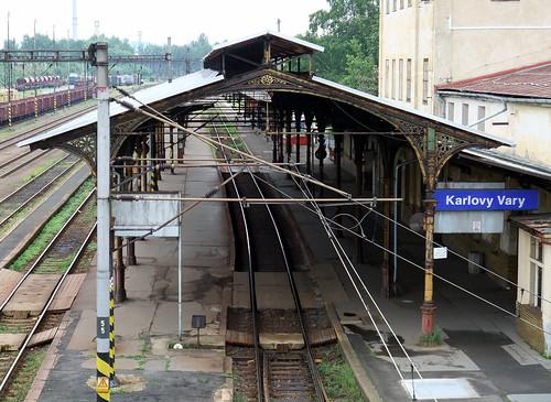 Karlovy Vary Railway Station