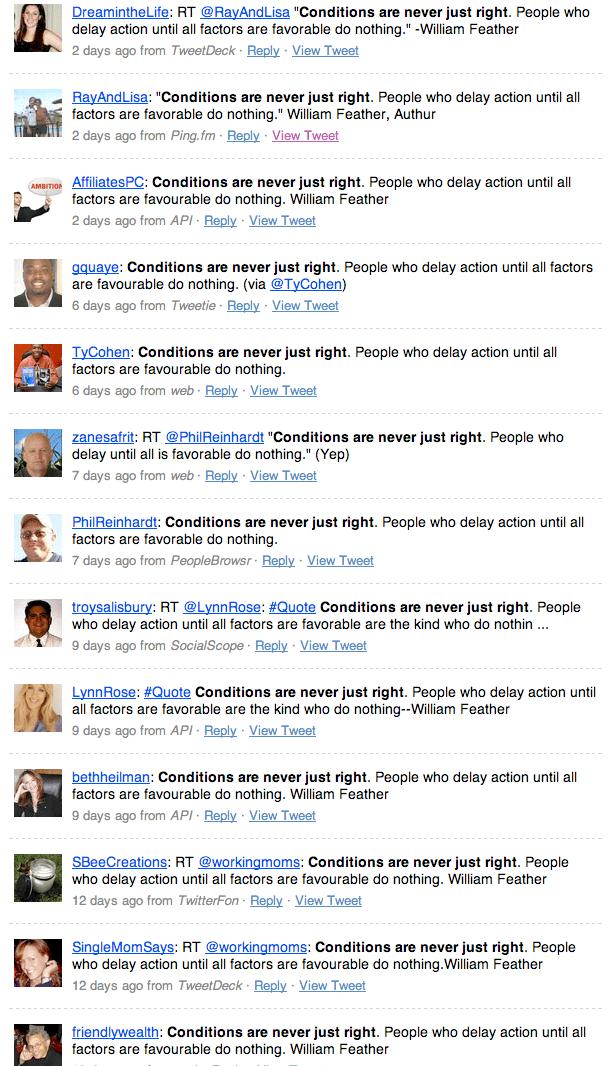 Conversation on Twitter