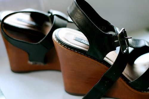 Monday: Poor Shoes. Cheap but beloved.