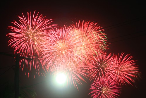 Fireworks from my new house
