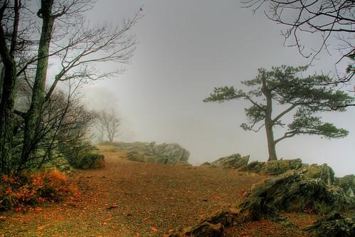 The Trail on the Precipice